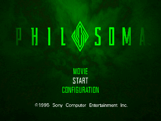 Screenshot Thumbnail / Media File 1 for Philosoma [NTSC-U]